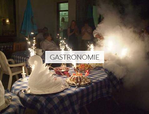 Hochzeit Gastronomie